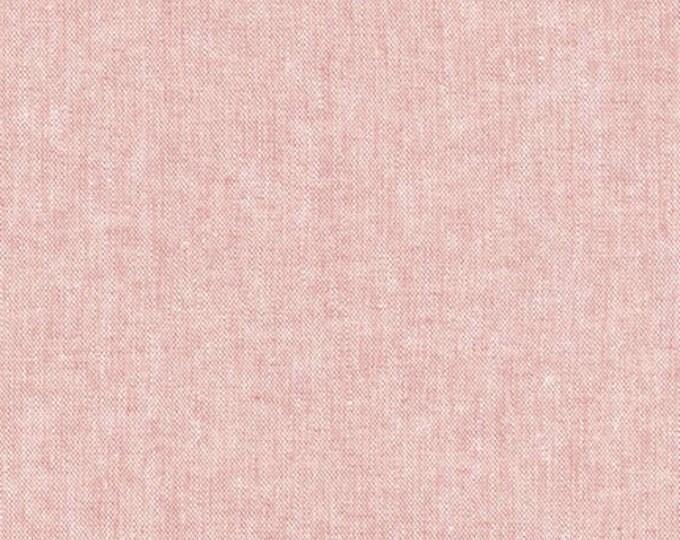 Robert Kaufman Yarn Dyed Essex  -Berry - Cotton Fabric
