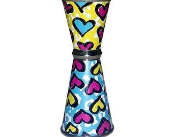 Cheetah Love - Designer Jigger - Tall Double-Sided 28ML by 56ML
