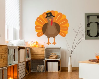 Turkey Thanksgiving Wall Sticker