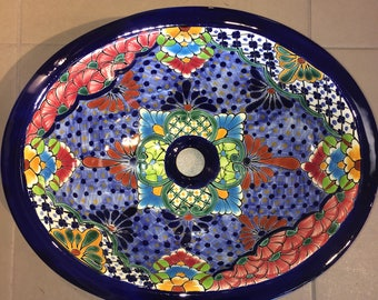 Free Shipping!  Gorgeous Talavera Sink