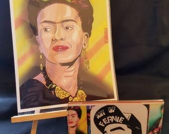 Frida Kahlo 8x10 art print