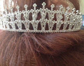 Bridal Crystal Tiara Wedding Crown