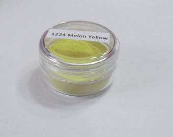Melon Yellow  1224-8 -15G -.5oz -Enameling Torching Supplies - Thompson enamel -  fire torching supplies - torch fire enamel