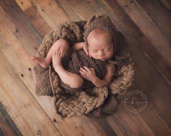 Short Overalls Pattern, Newborn Size, Bonnet Pattern, Knitted Overalls Pattern, Blanket Pattern, Vera