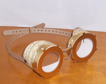 Steampunk Goggles - SVG, WPC