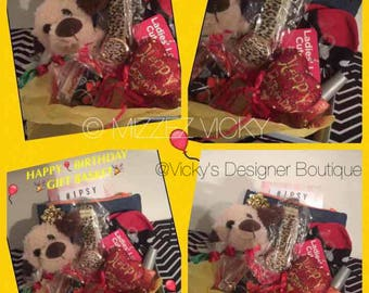 Brand New Teddy Bear Gift Basket