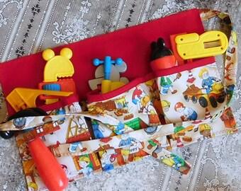 Kids Apron - Personalized Apron - Pretend Play Belt - Pretend Play Apron - Child Toolbelt - Boys Toolbelt - Construction Belt - Boys Apron