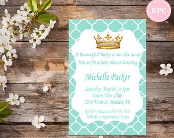 SALE!!! Tiffany blue baby shower invitation. Tiffany birthday invitation. Tiffany baby shower. Tiffany birthday invitation.