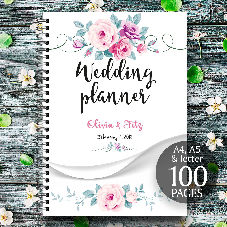wedding planner printable printable wedding planner floral