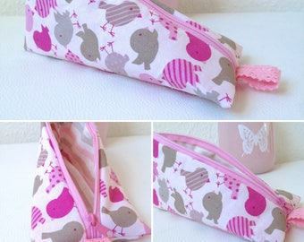 Zipper pouch pencil case
