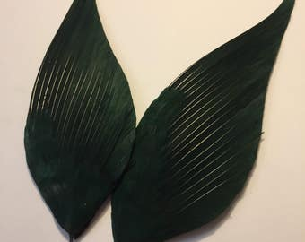 1940 's feathers feathers green millinery millinery