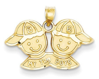 My Two Boys Charm (JC-1142)