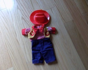 CPK CABBAGE Patch Kids Vintage doll toys Western Cowboy Outfit Clothes Action Figure dolls Cowgirl Country