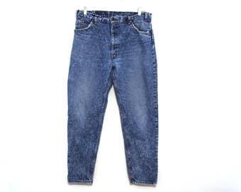 Vintage 80s LEVIS acid stone wash jeans mens
