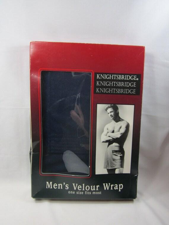 Mens velour spa wrap vintage knightsbridge nip bath shave for Bathroom accessories for men
