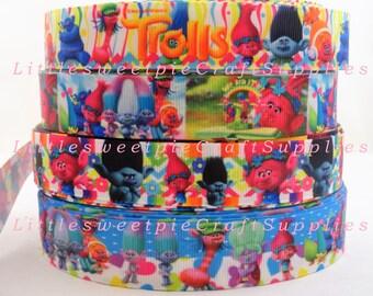 "1 & 7/8"" Kids Movie-Cartoon Printed Grosgrain ribbon-hair bow scrapbooking supplies"
