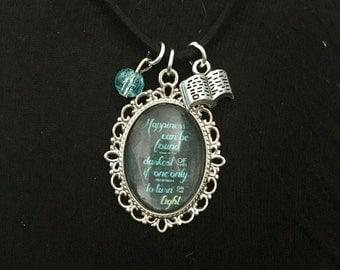 Harry Potter Dumbledore Quote Necklace