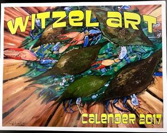 Witzel Art 2017 Calendar