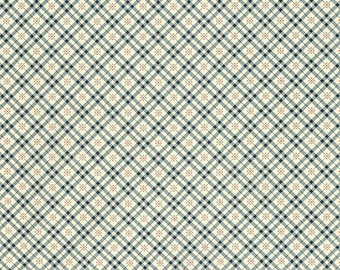 Eastham - Fine Plaid Thistle by Denyse Schmidt for Free Spirit Fabrics, 1/2 yard, PWDS.101 Thistle