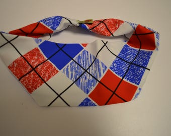 Patriotic Plaid Headband