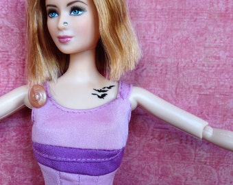 Vintage dress from hercules doll fit for barbie