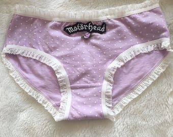 Motorhead lilac panties one size small