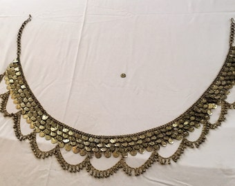 Vintage Amazing Belly Dancers Belt with small Bells