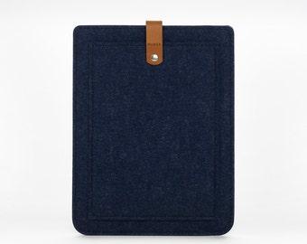 Felt iPad Air Sleeve - iPad Air Case - iPad Air Cover - iPad Air Pocket - iPad Felt Leather Case