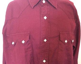 Western Cowboy Shirt - XXL