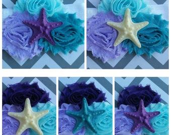 PICK YOUR COLORS! Mermaid Headband, Mermaid Costume, Ariel Headband, Mermaid Tutu Dress