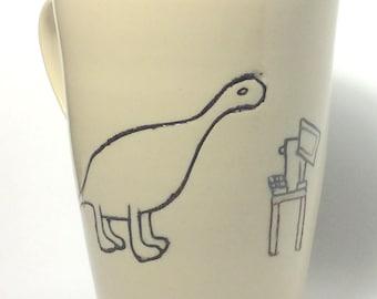 I.T. guy - Dinosaur Mug - Ceramic Mug