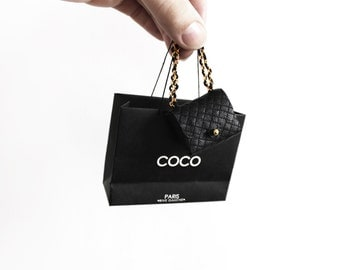 Miniature Quilted Coco handbag