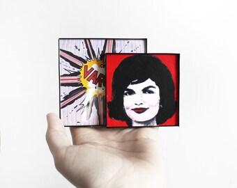 Miniature Framed Modern Art