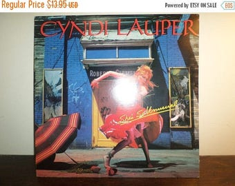 Save 30% Today Vintage 1983 Vinyl LP Record Cyndi Lauper She's So Unusual Excellent Condition 10965
