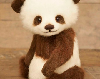 Panda Ricky, (is possible repeat to order)Teddy Bear Stuffed Animal Bear Soft Toys Artist Teddy Bears