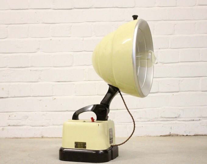 Large Medical Desk Lamp By Hanovia Circa 1950's