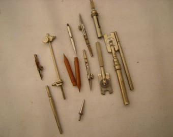 protractors parts-drafting tools parts-assemblage-steampunk-art-crafts-upcycle-