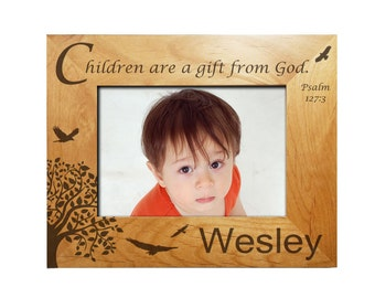 Personalized Child's Frame - Children Are A Gift From God