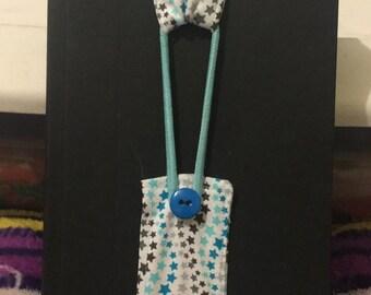 Blue Star Bookmark