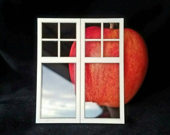 Dollhouse window Dutch Colonial Arts and Crafts Craftsman Mission, 4 over 1 pane