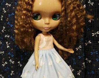 Blythe Doll Outfit goose print dress