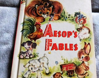 Aesop's Fables by A Rand McNally Book-Elf Book