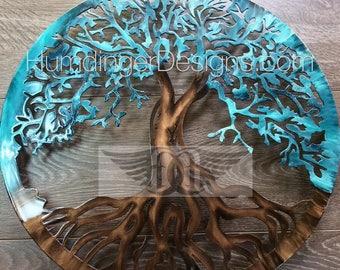 Large Metal Wall Art Tree of Life