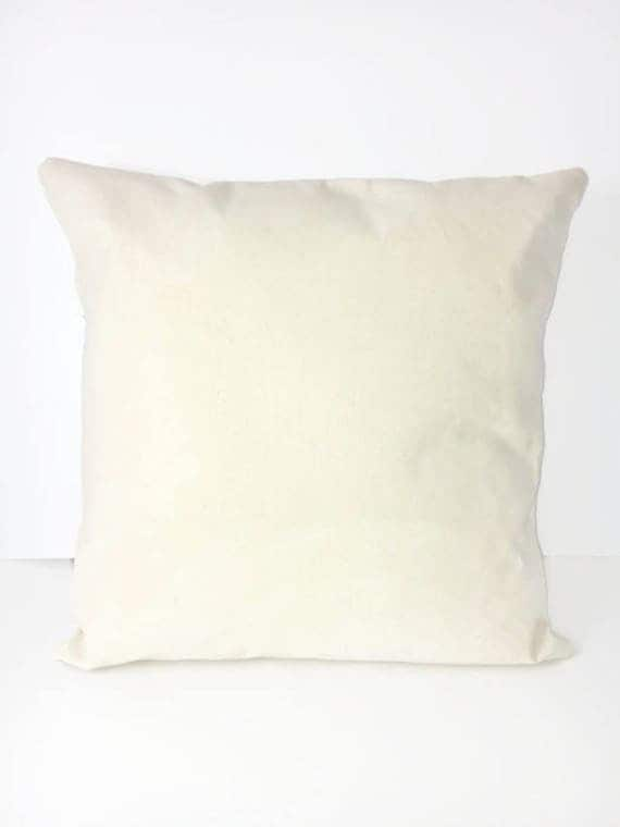 Blank Canvas Pillow Cover Htv Blanks Blank Pillow