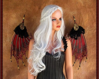 Adult Fairy Wings**Red/Black/Gold Fairy/Bat**FREE SHIPPING**Costume/Cosplay/Masquerade/Photography/Gothic/Halloween