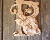 Wooden Letter P + Pansy F...
