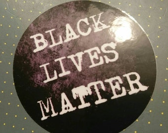 Black Lives Matter Vinyl Sticker Power Panthers Malcolm X Justice No Hate Martin Luther King Jr Stop Police Brutality Decal Revolution Rebel