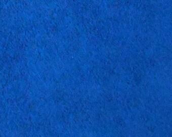 Ultrasuede Dark Sapphire Blue  8.5 Inch Square