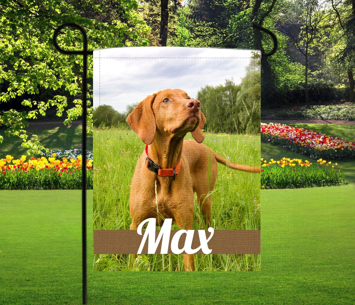 personalized photo garden flag mothers day gifts nana gifts