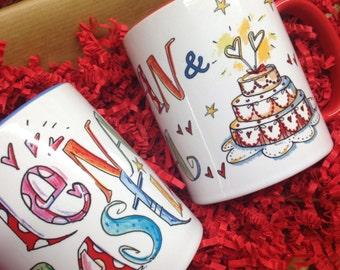 Hochzeitsspardose, wedding gift, money gift to the wedding, Rosi Rosinchen